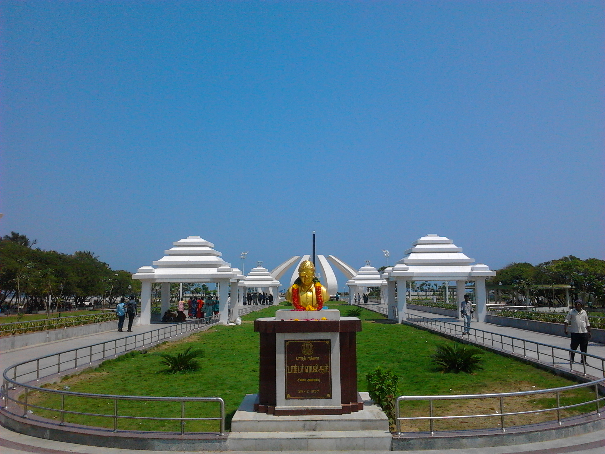 MGR memorial in Chennai